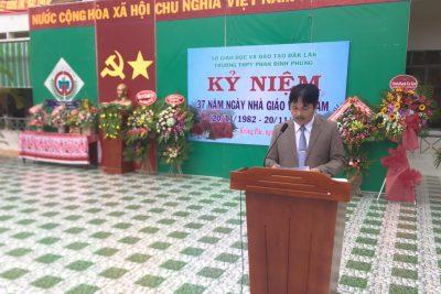 Một số hình ảnh hoạt động Ngày nhà giáo Việt Nam