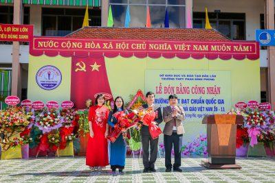 Một số hình ảnh về Lễ đón bằng công nhận trường THPT đạt chuẩn quốc gia và kỷ niệm ngày nhà giáo Việt Nam 20/11