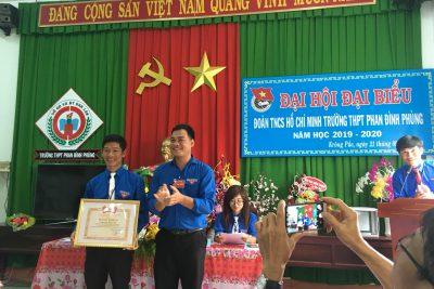 Một số hình ảnh về ĐHĐB Đoàn trường THPT Phan Đình Phùng