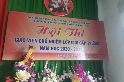 Một số hình ảnh về HĐ NGLL trong Hội thi GVCN giỏi cấp trường năm học 2020-2021