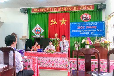 Một số hình ảnh Hội nghị CB, CC, VC, NLĐ – CĐ và hoạt động thể dục, thể thao chào mừng ngày Phụ nữ Việt Nam 20/10